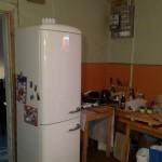 Unsere provisorische Küche