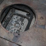Diese Röhren haben das Wasser im Boiler gewärmt